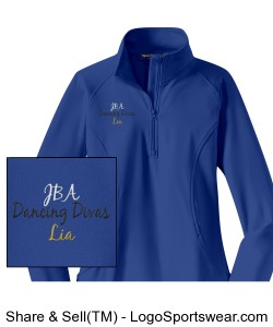 Dancing Divas Fleece Design Zoom